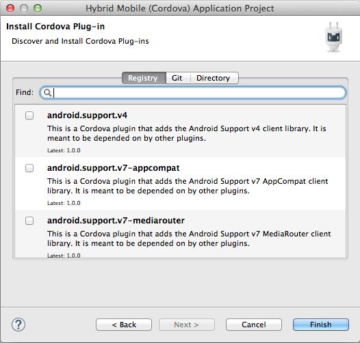 AeroGear - Tutorial - Android Development w/ PhoneGap/Apache Cordova